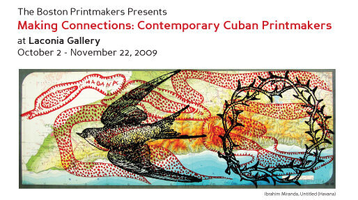 poster for Contemporary Cuban Printmakers
