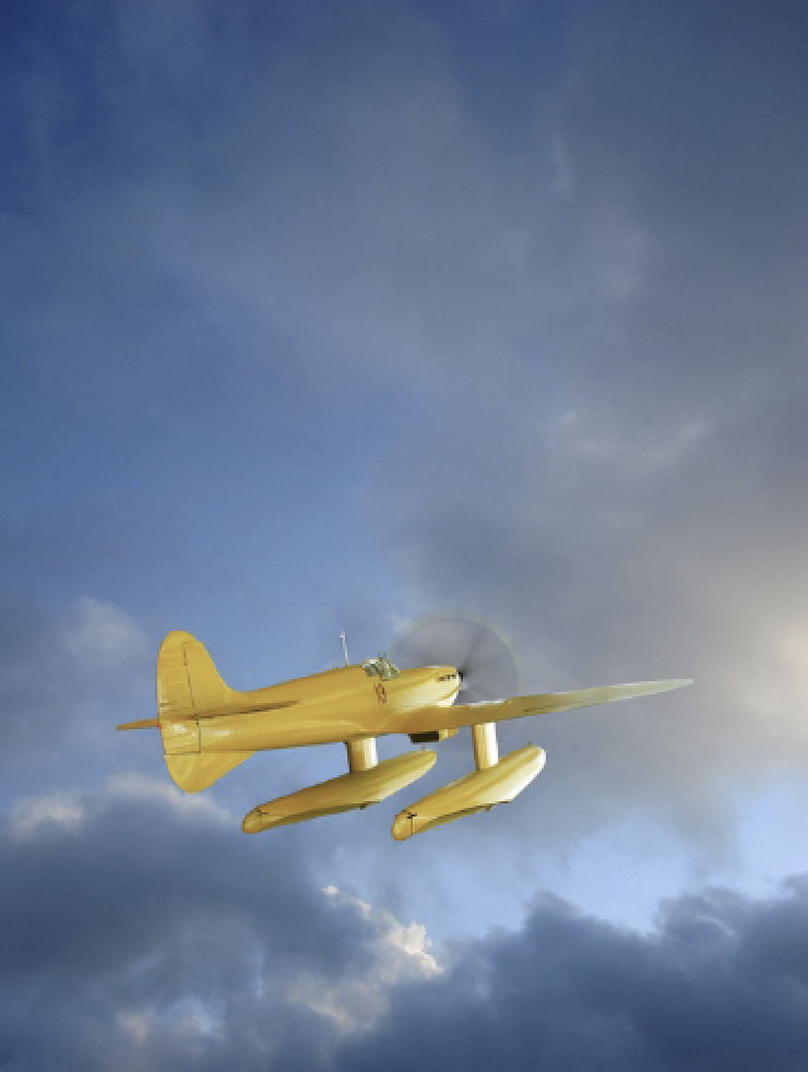 The Race Tales in Flight