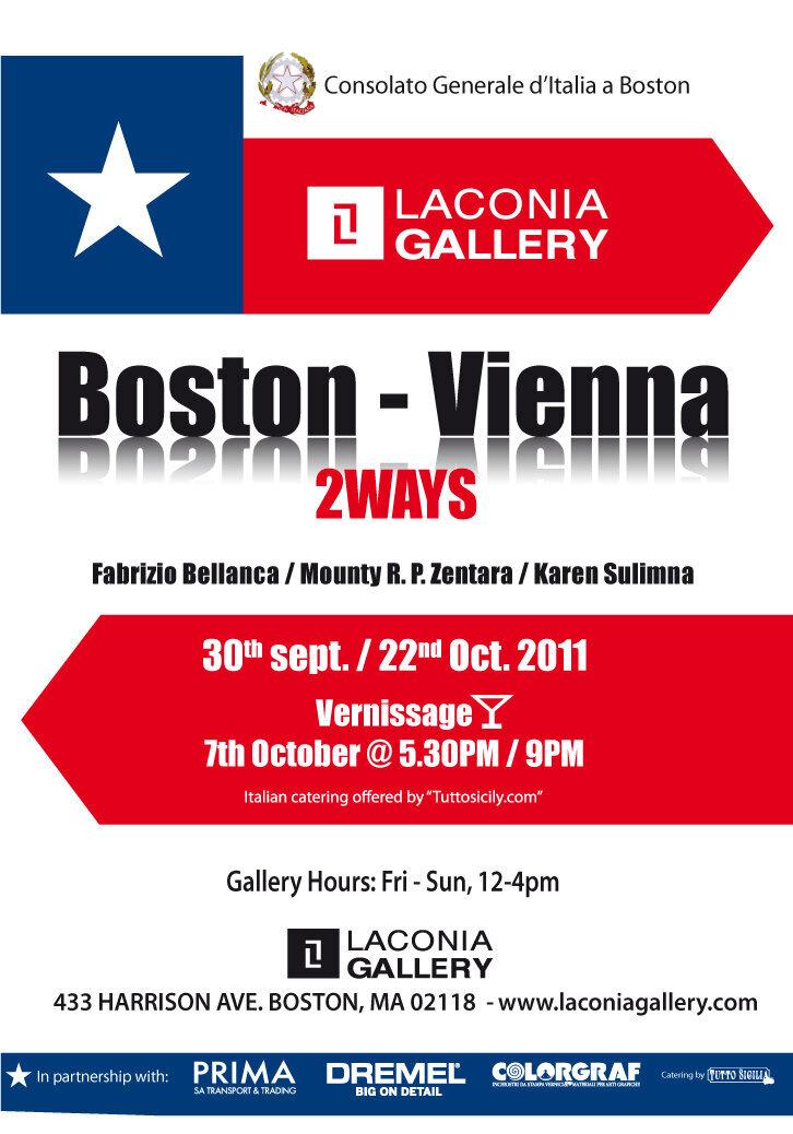 Boston  Vienna 2ways poster