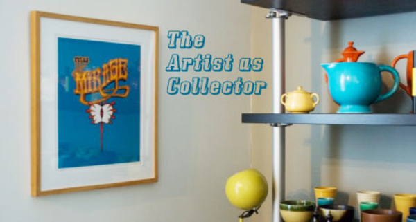 the artist as collector poster